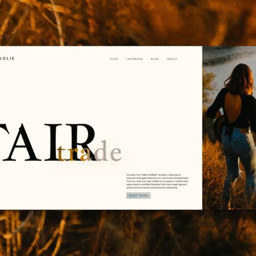 Jolie website