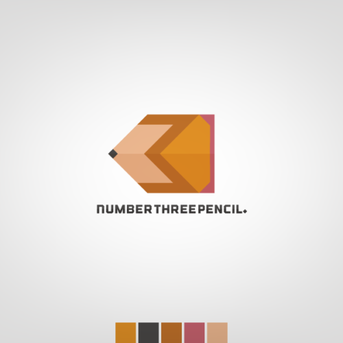 number three pencil