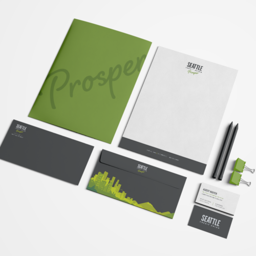 Seattle Credit Union stationary