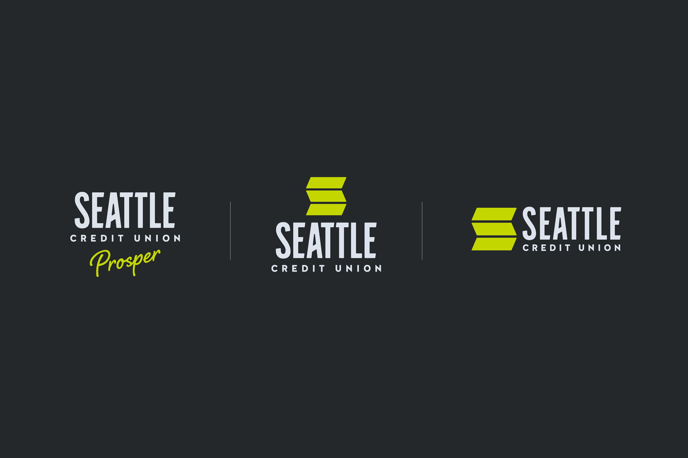 Seattle Credit Union logo alts