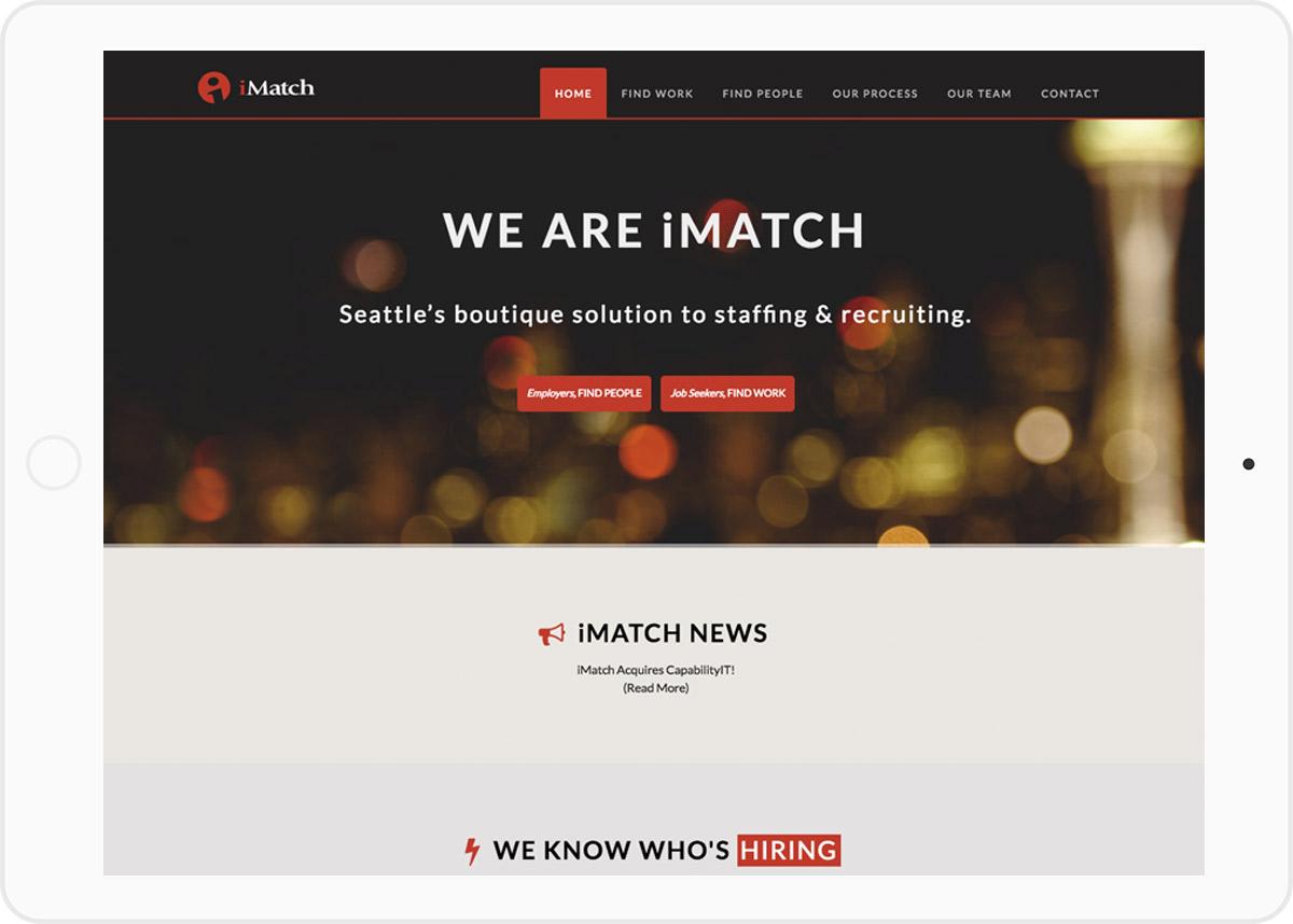 imatch homepage top