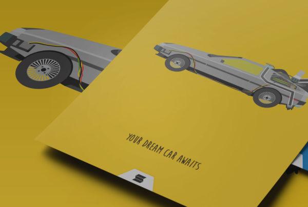 dream car posters