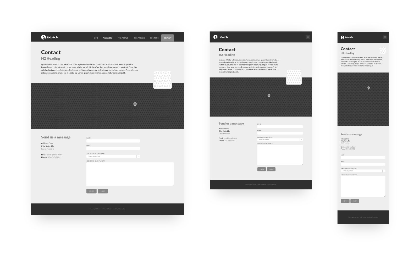 imatch contact wireframe